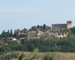 Panorama over Gradara, Marche